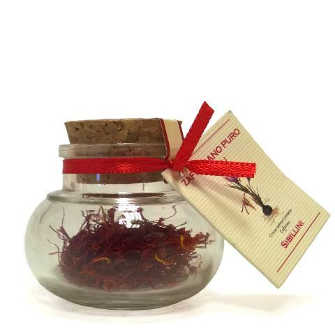 Zafferano puro in fili 1 gr su ampolla senza confezione