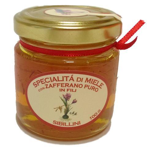 Miele allo zafferano 100gr
